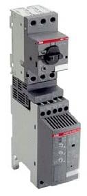 Концерн. устройство плавного пуска типа PSR с автоматом MS-116.